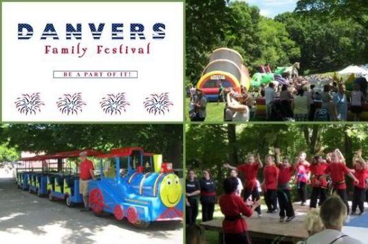 Danvers Family Festival. Danvers MA - Family fun at Endicott Park