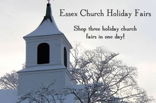 Shop three of the best church fairs in New England, in the same neighborhood on the same day!