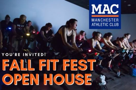 Manchester Athletic Club Fall Fit Fest Open House
