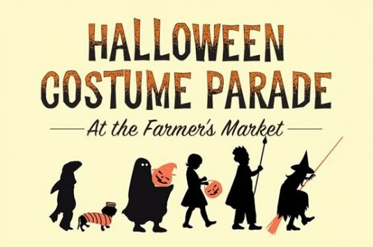 Come enjoy a Halloween costume parade at the Swampscott Farmers Market.