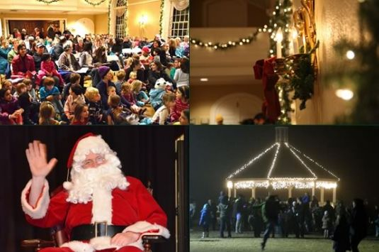 Hamilton-Wenham Community Sing and tree lighting
