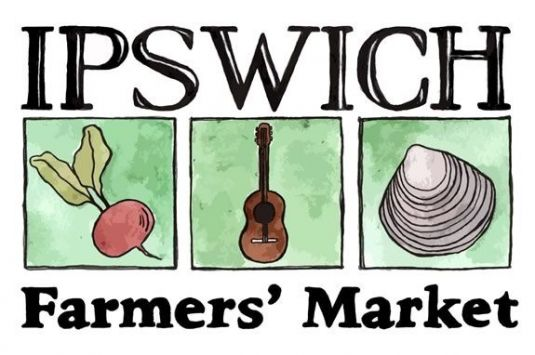 The Ipswich Farmers Market is every Wednesday 3:30-6:30pm on the South Village Green