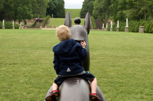 Kids will have a exploring the Trustees of Reservations Crane Estate in Ipswich Massachusetts!