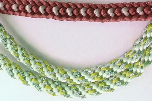 Teens and tweens are invited to Newburyport Public Library to learn Kumihimo Braiding