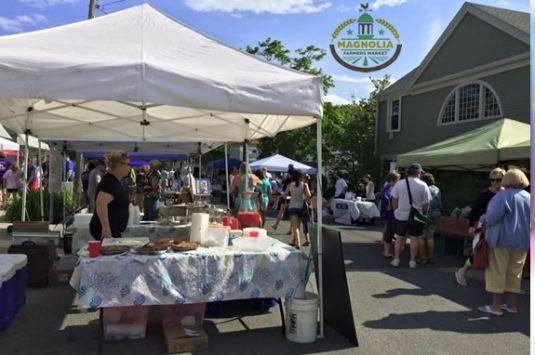 Come enjoy the Magnolia Farmers Market on Lexington Ave every Monday!