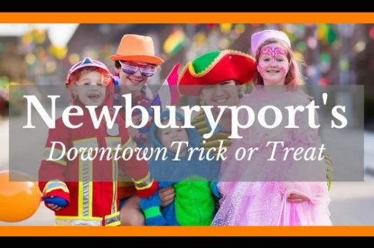 The Newburyport Chamber invites kids downtown and to the Tannery for safe trick or treating!