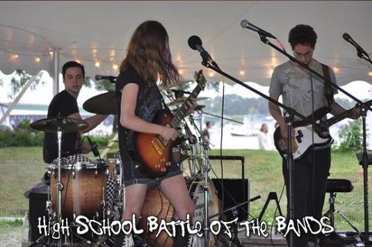 Newburyport High School Battle of the Bands is part of the NBPT Yankee Homecoming.