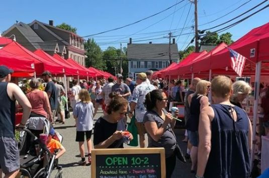 North Andover Farmers Market every Sunday Through October 7, 2018.