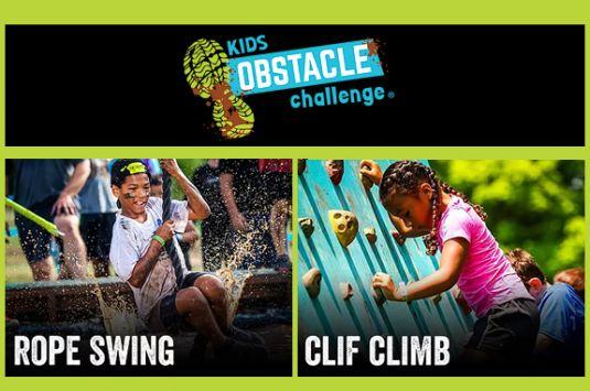 Kids Obstacle Challenge - Lancaster MA
