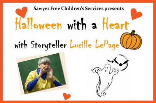 Halloween with a Heart at Sawyer Free Library