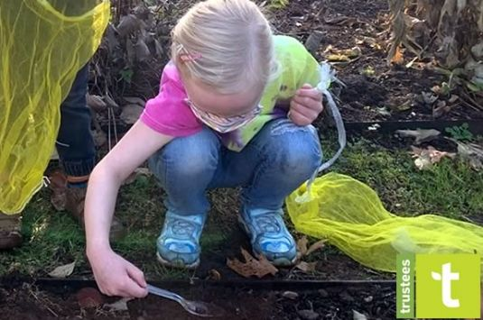 Stevens-Coolidge Place hosts a nature based outdoor programs for toddlers that encourages outdoor play and exploration!