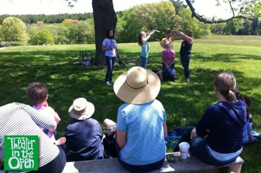 Come Enjoy Family Hour in the Open by Theater in the Open at Maudlsay State Park