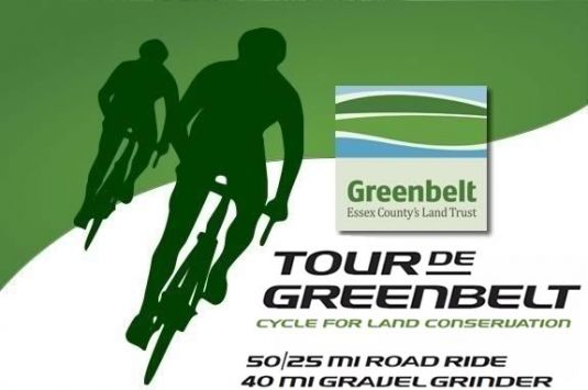 Essex County Greenbelt will host their 3rd annual road cycle event to raise funds for conservation efforts on the North Shore!