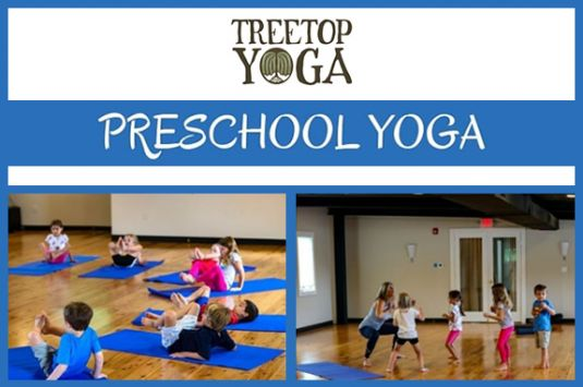 Yoga for families at TreeTop Yoga in Gloucester MA