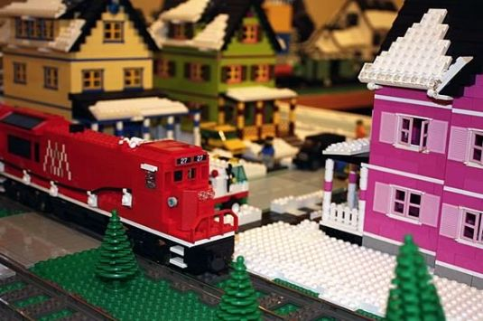 The Lego Train Returns to Wenham Museum 2016