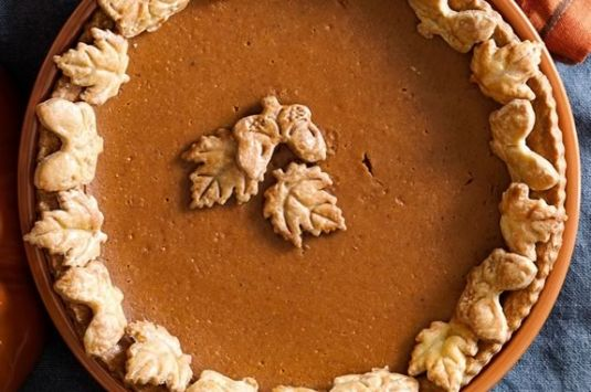 Junior chefs learn to bake great pumpkin pies for Thanksgiving at Williams-Sonoma class!